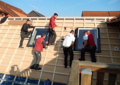 Einbau Dachfenster