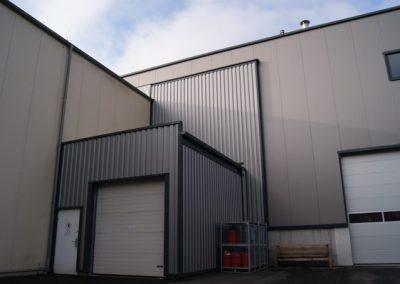 Industriehalle Fassade/Details